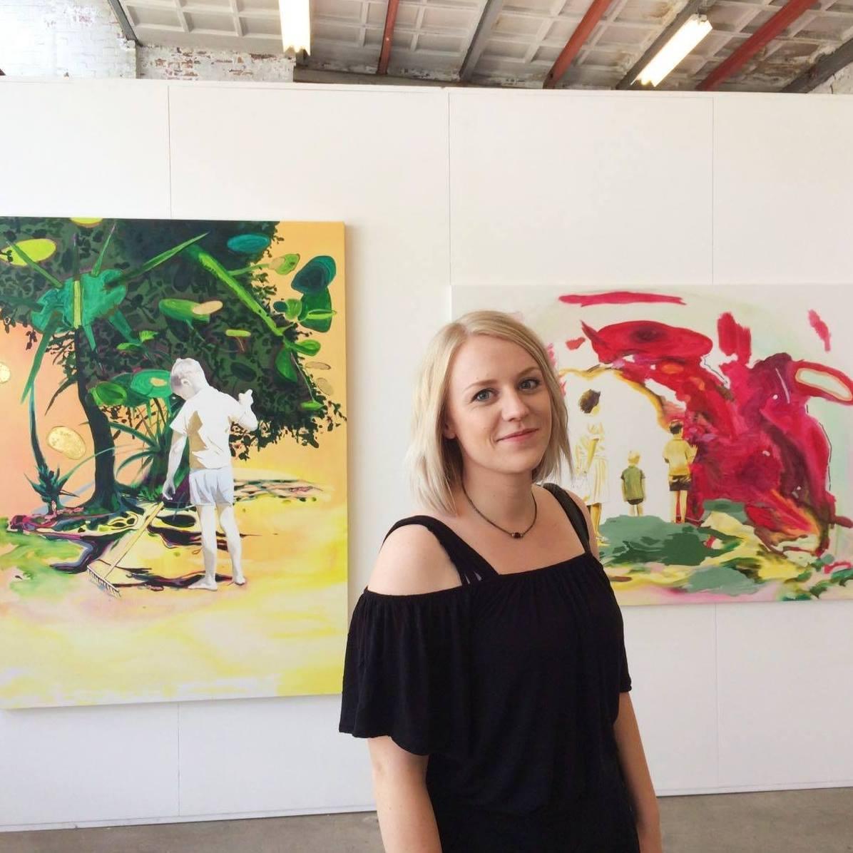 2019. Helena Hoogenraad. Winnaar van de Hart Nibbrig Atelierprijs.