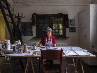 2020. Bia Maas . Bob ten Hoope Atelierprijs.  Foto: Herman van Doorn.