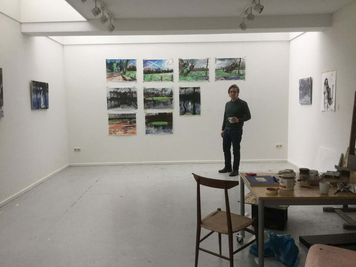 2018. Jim Harris . Espinette Atelierprijs.