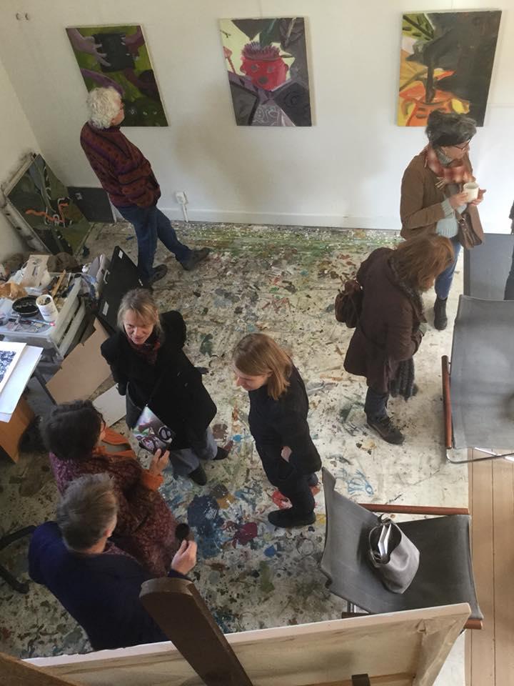 Atelier Fransepad - open atelier 2017