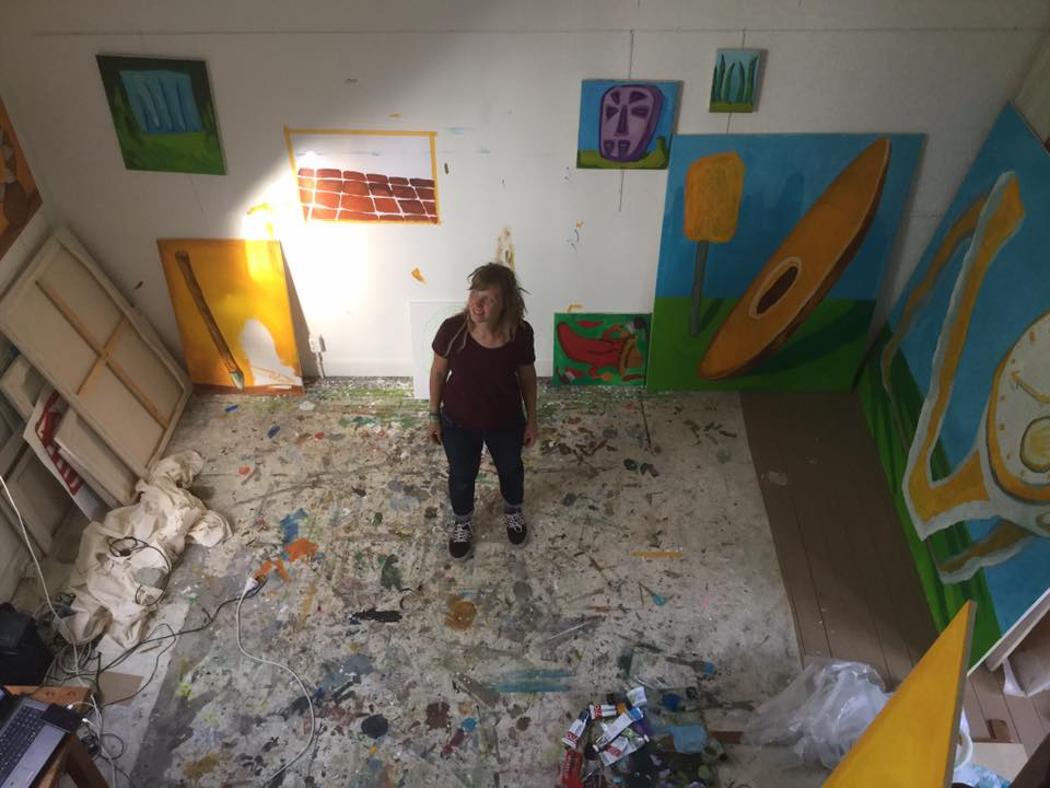 Atelier Fransepad/Stipendium atelier Dooyewaard Stichting - Liselot Veenendaal
