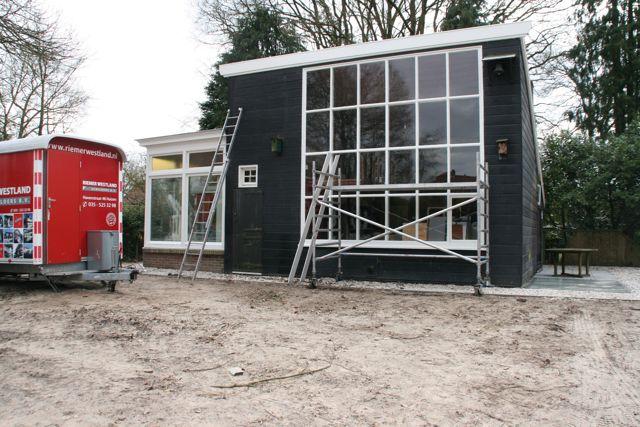 Maart 2015 Atelier Hart Nibbrig-restauratie bijna voltooid