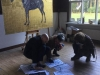 Atelier Hart Nibbrig - bezoekers open atelier 2017