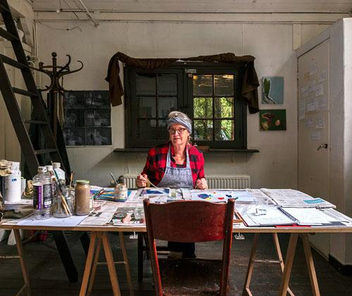 Bia Maas - Dooyewaard Stichting.  foto: Herman van Doorn