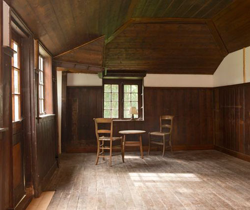De hut van Mondriaan
