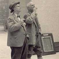 Jaap en Willem Dooyewaard. Foto: Singer Laren.