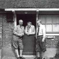 Jaap, en Willem & Jacoba Dooyewaard. Foto: Oorspronkelijke atelier.