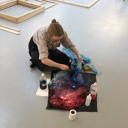 Franka van der Linden - Artist in residence 2016-Atelier Espinette
