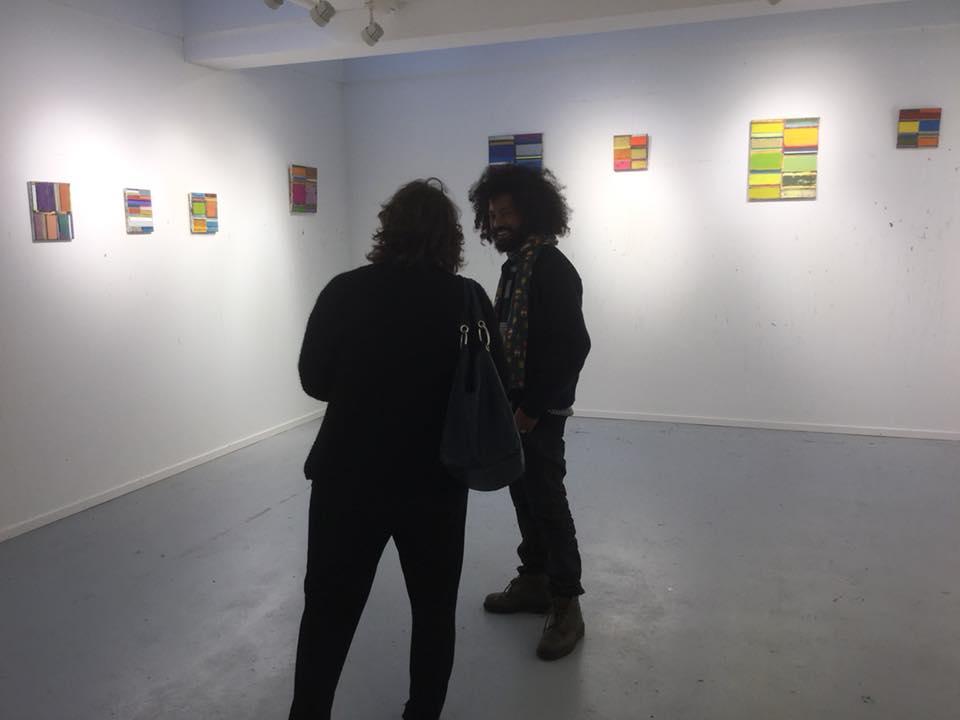 Atelier Espinette 2017 - Kunstenaar Tegene Kunbi