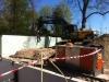 16-04-14 De kelderbak voor Atelier Espinette wordt verder uitgegraven