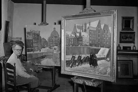 Oorspronkelijke atelier-Jaap Dooyewaard in de 7 Linden.