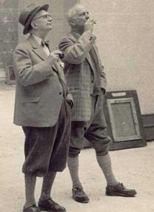 Jaap en Willenm Dooyewaard. Foto: Singer Laren.