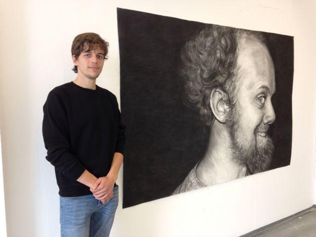 """Jurre Blom-""""De Hut van Mondriaan"""" tentoonstelling 2015"""