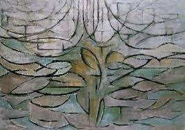 Mondriaan-Bloeiende appelboom 1912