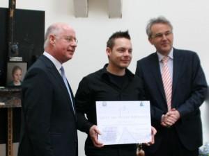 31 maart 2015-Uitreiking Gerrit van Houten atelierprijs