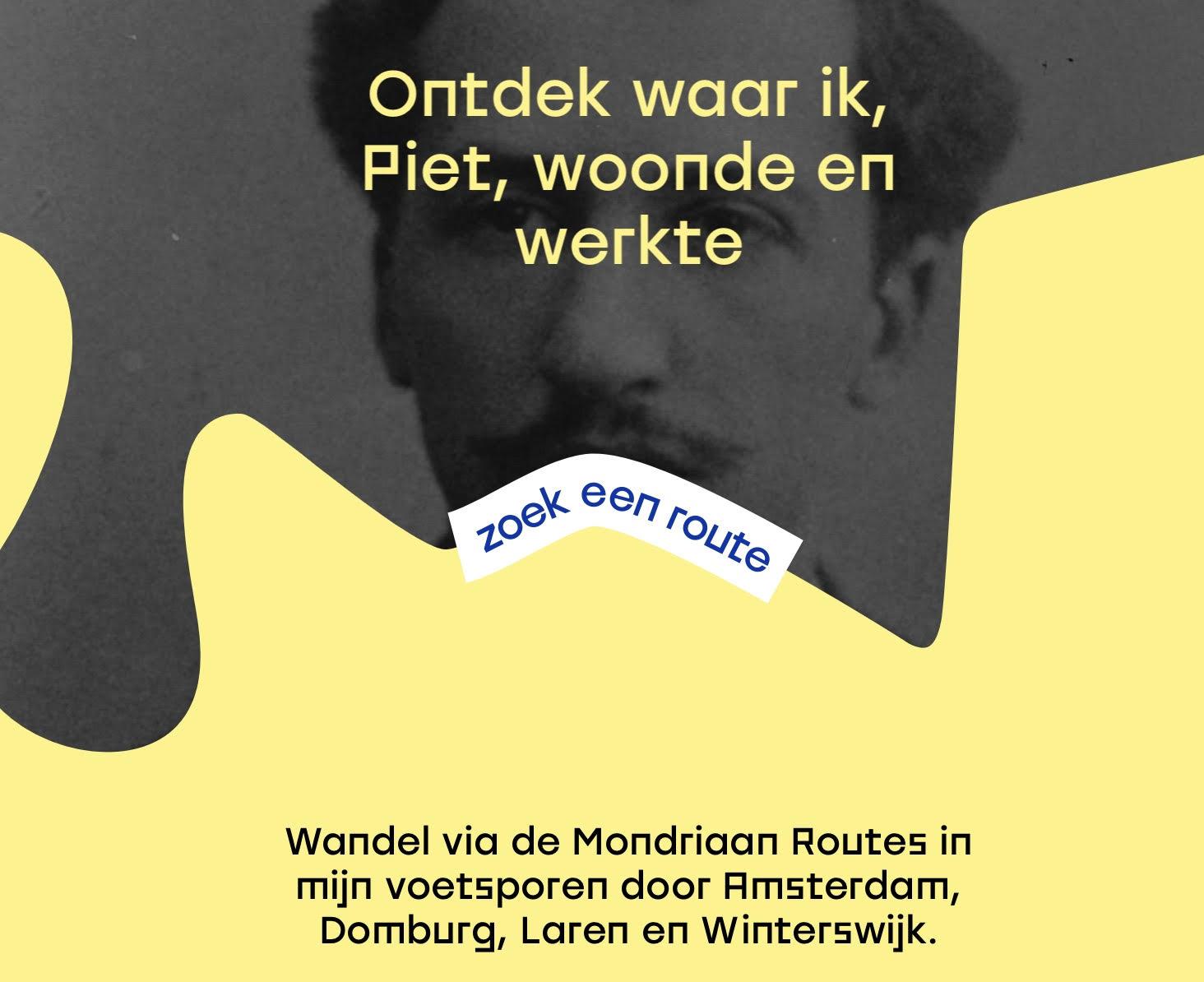 Mondriaan Wandelroute